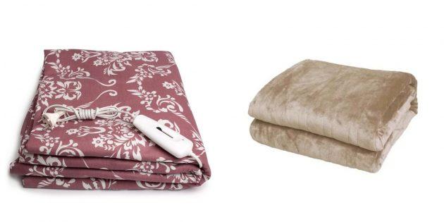 Что подарить мужу на день рождения: одеяло, матрас или простынь с подогревом