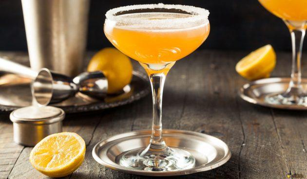 Алкогольный коктейль «Сайдкар»