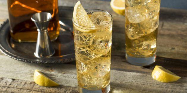 Алкогольные коктейли: «Имбирный хайбол»