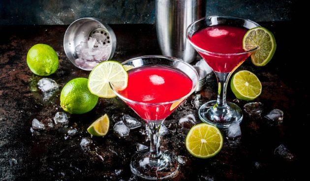 Алкогольный коктейль «Космополитен»