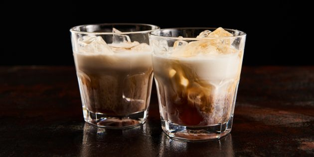Алкогольные коктейли: «Белый русский»