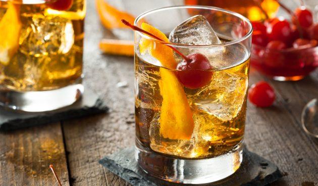 Алкогольный коктейль олд фэшн
