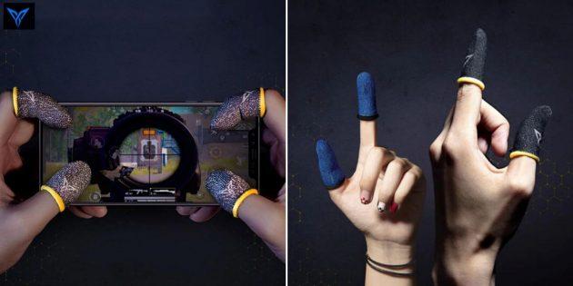 Перчатки для игры на смартфоне