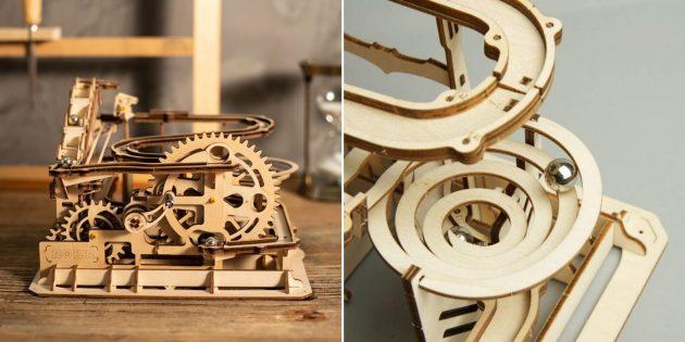 Как развлечь детей дома: деревянный конструктор от Robotime