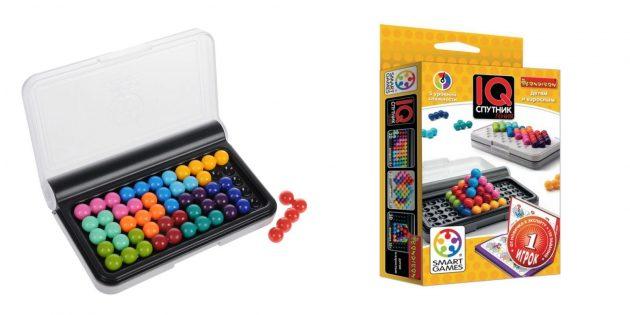 Как развлечь детей дома: настольная игра «IQ-Спутник Гения»