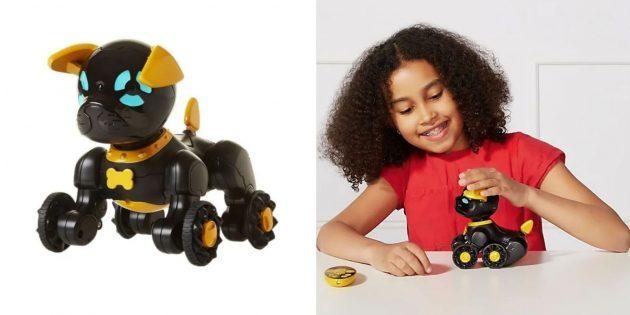 Как развлечь детей дома: интерактивный робопёс