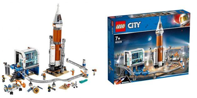 Как развлечь детей дома: Lego «Ракета и пульт управления запуском»