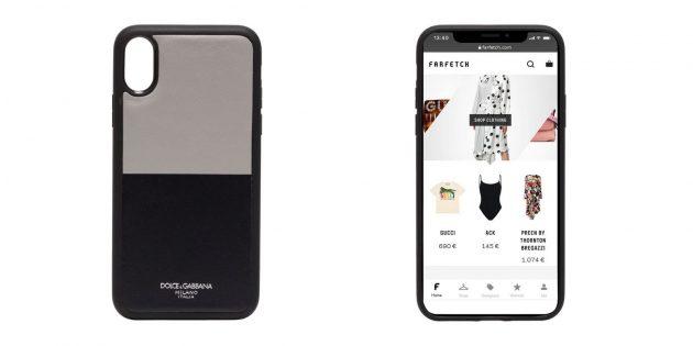 Чехол Dolce & Gabbana для iPhone X