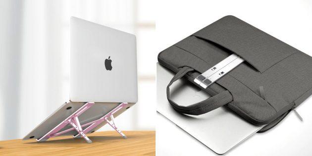 Складная подставка для ноутбука на стол белье женское из хлопка купить