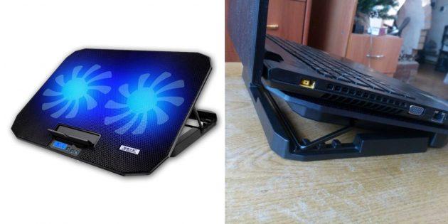 Охлаждающая подставка для ноутбука с AliExpress