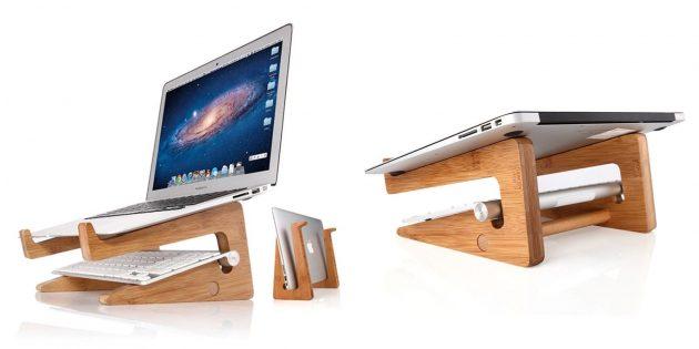 Деревянная подставка для ноутбука с AliExpress