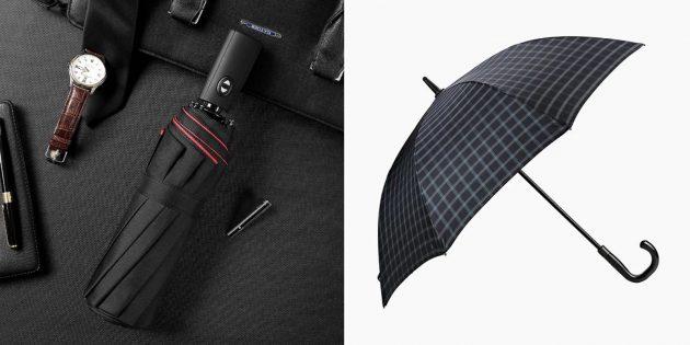Подарок мужу на день рождения: качественный зонтик
