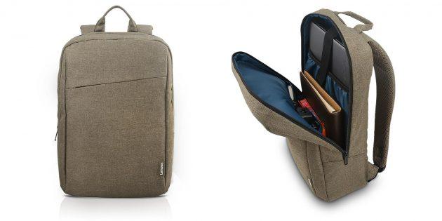 Цена дня: рюкзак для ноутбука Lenovo за 745 рублей вместо 1 490