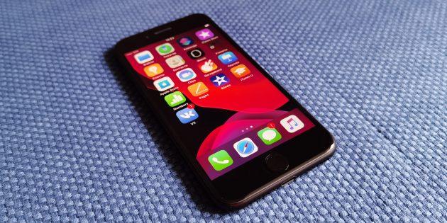 iPhone SE 2020: характеристики экрана