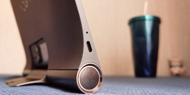 Lenovo YOGA Smart Tab: стереодинамики