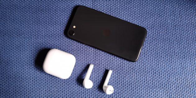 Наушники Realme Buds Air держат подключение со смартфоном в любой точке квартиры