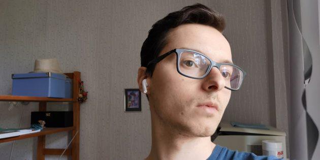Наушники Realme Buds Air: запас громкости достаточный для прослушивания в тихой обстановке