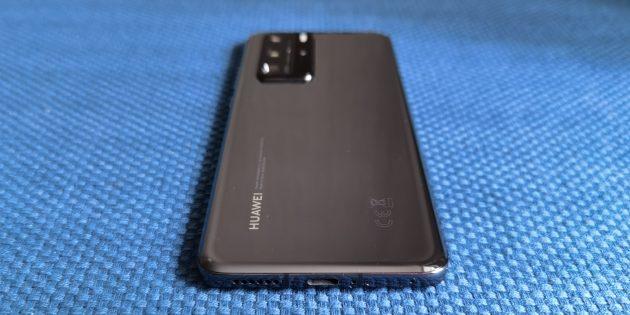 Huawei P40Pro: из-за расположения микрофона на нижнем торце его легко перекрыть