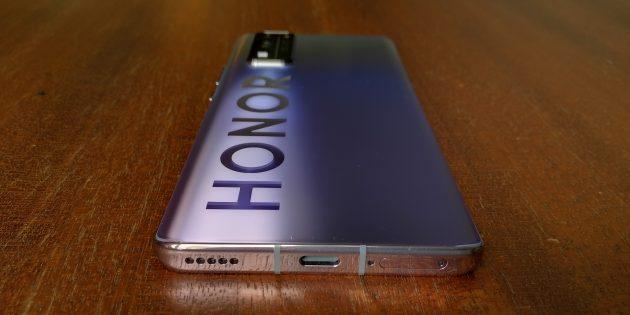 Дизайн Honor 30Pro+