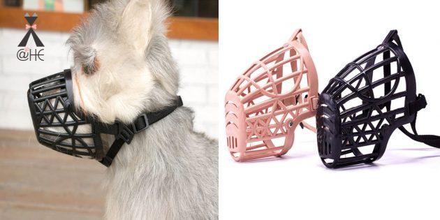 Товары для прогулки с собакой: намордник