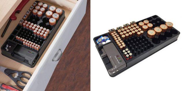 Органайзер для батареек