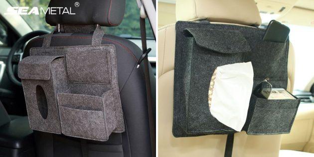 Полезные дешёвые товары: органайзер в авто