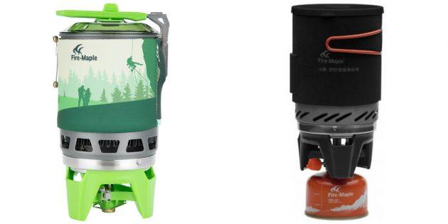 Что подарить мужу на день рождения: туристическая газовая горелка