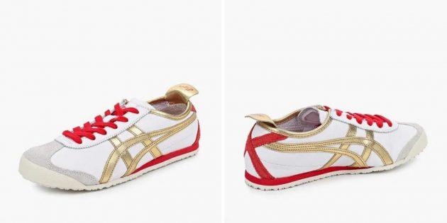 белые кроссовки: Onitsuka Tiger Mexico 66