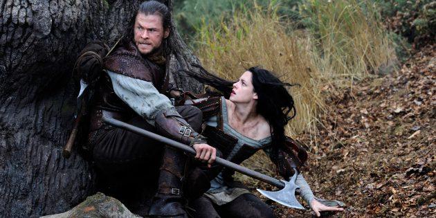 Фильмы про принцесс: «Белоснежка и охотник»