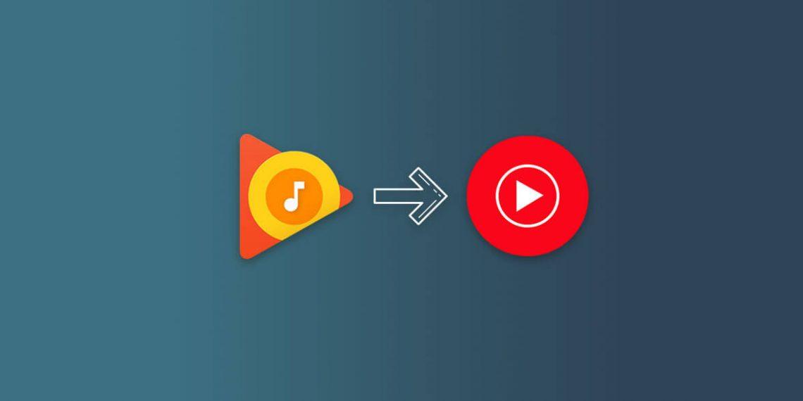 Как перенести музыку из «Play Музыки» в YouTube Music