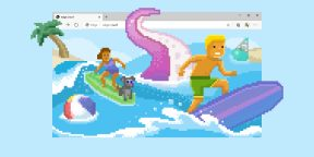 В браузере Microsoft Edge появилась мини-игра про сёрфинг