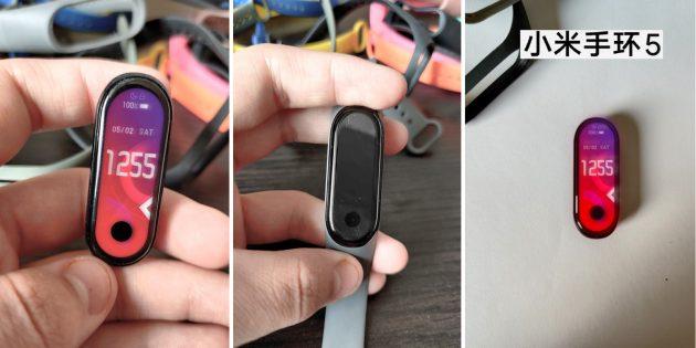 В Сети появились первые фото Xiaomi Mi Band 5