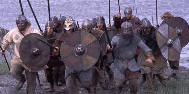 Кадр из документального сериала «Кровь викингов»