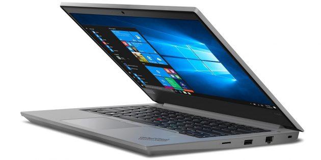 Ноутбук для программирования: Lenovo ThinkPad E14