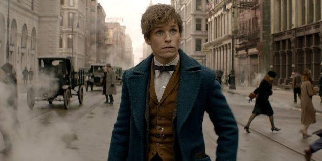 Фильмы про магию: «Фантастические твари и где они обитают»