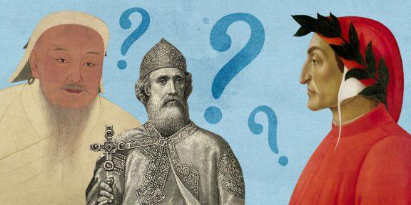 ТЕСТ: Кто из известных личностей изображён на портрете? Определите!