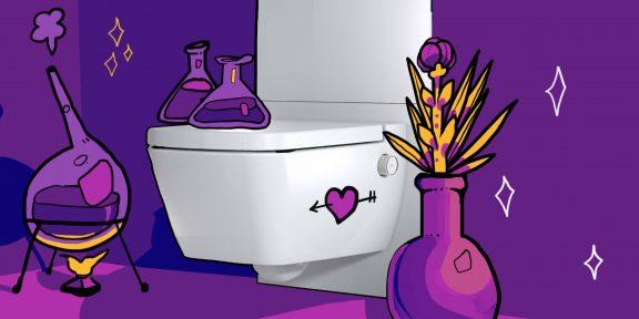 ТЕСТ: Устроить свидание или сдать анализы? Что ещё можно сделать в современном туалете