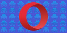 Как включить режим инкогнито в Opera