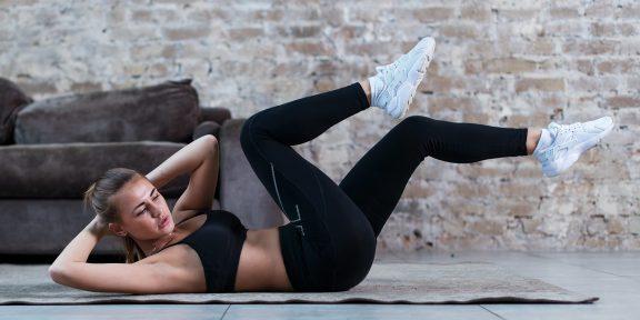 Что произойдёт с телом, если делать упражнение «велосипед» каждый день