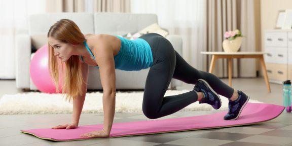 Тренировка дня: 6 упражнений для энергичного начала дня
