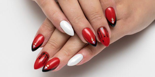Формы ногтей для маникюра: «стилет»