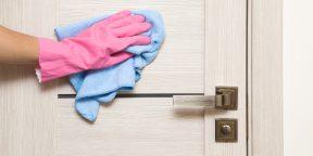 Совет дня: вымойте двери в квартире