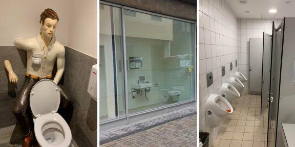 15 ужасных туалетов, пользоваться которыми совсем не хочется