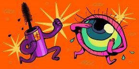Как макияж может навредить глазам и что делать, чтобы снизить риск