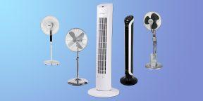 10 мощных напольных вентиляторов на любой бюджет