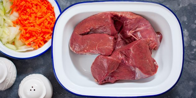 Как варить говяжье сердце: удалите жир перед готовкой