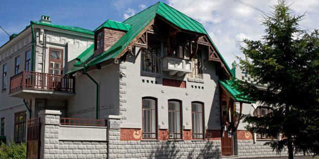 Достопримечательности Ульяновска: дом-ателье архитектора Ф. О. Ливчака