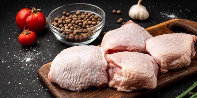 Как и сколько варить куриные бёдра: охлаждённые куриные бёдра