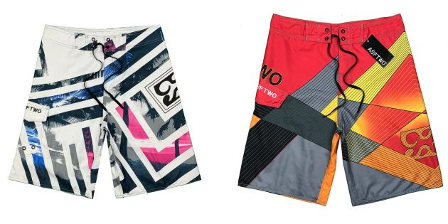 Пляжная одежда: цветные мужские плавки для купания