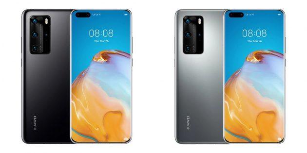 смартфоны с хорошей камерой: Huawei P40Pro